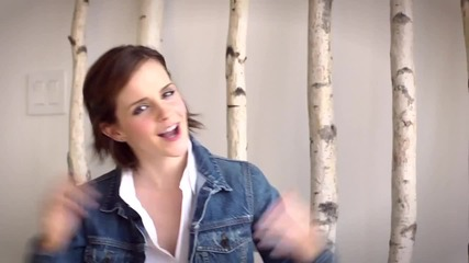 720p / Зад Кадър !! - Ема, Логан и Езра : Nylon ( Октомври 2012 )