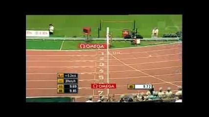 100 метра - Световен рекорд