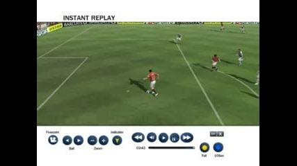 Гол на FIFA 08