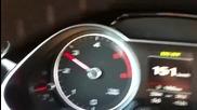 Ускорение Audi A4 B8 3.0tdi V6 295ps/620nm с Stg1 чип тунинг на Revo Technik