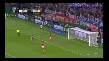 Mesut Ozil! Голове за Реал Мадрид и Германия!