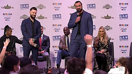 WWE Superstars host the first-ever Be a Star rally in Riyadh