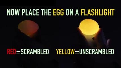 4 трика с яйца