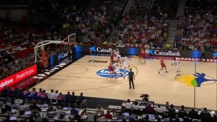 Последните минути от невероятния полуфинал Франция - Сърбия