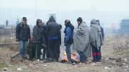 Мизерия и отчаяние в незаконен бежански лагер в Белград