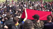 Ukraine: Arrests made as nationalists disrupt Kiev Immortal Regiment action