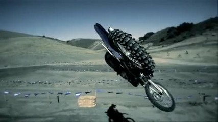 Super Slow Motion Whip - 2010 Yz450f & James Stewart