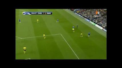 Michael Essien vs Barcelona [hd]