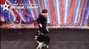 Donelda Guy и нейните кучета - Britains Got Talent 2011