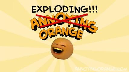 Annoying Orange - The Exploding Orange