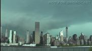 Силна буря в Ню Йорк 31.8.2014
