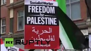 UK: Londoners demand justice for Palestinians as death toll rises