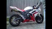 2007 Yamaha R1 - Exhaust Yoshimura Trs