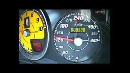 340 km/hh Sus Ferrari F430