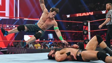 John Cena vs. Finn Bálor vs. Drew McIntyre vs. Baron Corbin - Fatal 4-Way Match for the right to Challenge Brock Lesnar