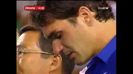 01.02 Крал Федерер Се Разплака На Награждаването - Australian Open 2009 Финал