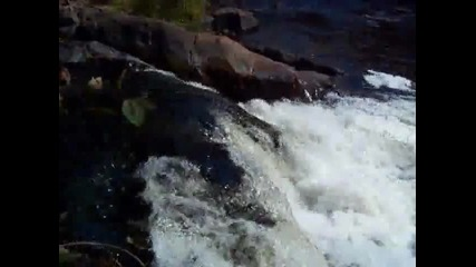Waterfalls of Marinette County, Wisconsin (daves Falls and more)