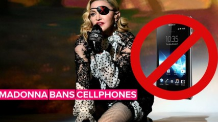 Madonna slams fans for disobeying no-cellphone rule at concert