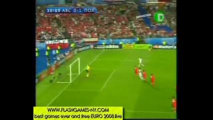 Страхотно красив гол - Австрия 0 - 1 Полша в ЕВРО 2008 12.06.2008 HQ