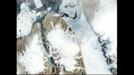 Айсберг, два пъти по-голям от Манхатън, се откъсна от Гренландия