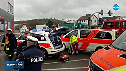 Автомобил се вряза в карнавално шествие в Германия (ВИДЕО+СНИМКИ)