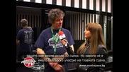 Music Space връчи диск с БГ музика на селекционера на Glastonbury