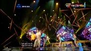 (hd) Hyungdon & Daejune - The gloomy song ~ M Countdown (21.06.2012)