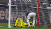Саутхямптън - Манчестър Юнайтед 2:0 /първо полувреме/