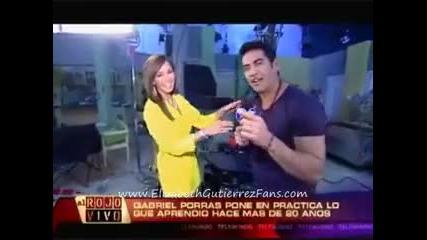 Gabriel Porras y Elizabeth Gutierrez