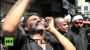 India: Shia Muslims draw blood during Ashura commemorations in India