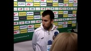 Светльо Дяков защити треньора след мача с Малта