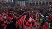 Portugal: Fans go berserk in Lisbon during Euro semi-final win