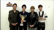 [live Hd] Cnblue Win 1 Music Show Champion 130206