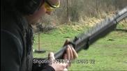 Стрелба с Franchi Spas 12 shotgun