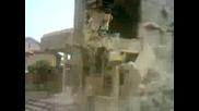 Разрушване на сграда в Раковски