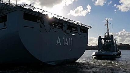 Germany: Warship departs for Libyan Mediterranean coast to control UN arms embargo