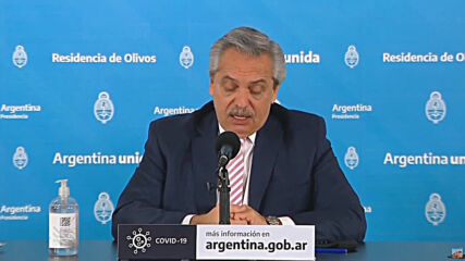 Argentina: President Fernandez says Mexico and Argentina to produce experimental COVID-19 vaccine