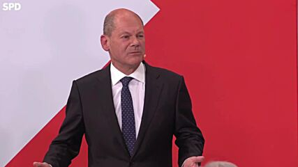 Germany: Many voters chose SPD because they want change in govt says Scholz