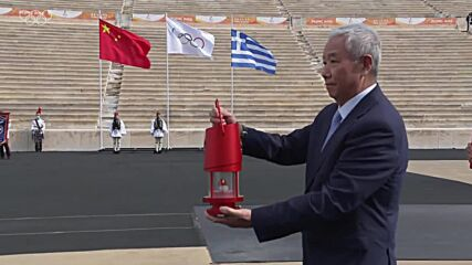 Greece: Olympic Flame begins journey from Athens to Beijing for Winter Games