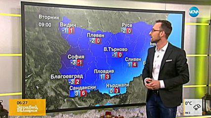 Прогноза за времето (18.12.2018 - сутрешна)