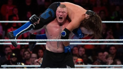 AJ Styles vs. Brock Lesnar – Champion vs. Champion Match: Survivor Series 2017 (Full Match)
