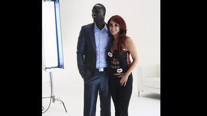 Dulce Y Akon - Beautiful Original Music + subs