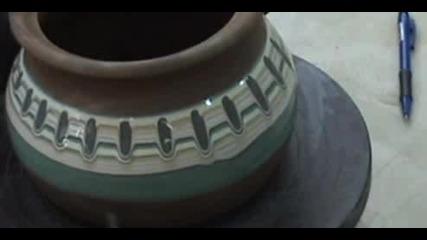 Троянска керамика - шарене