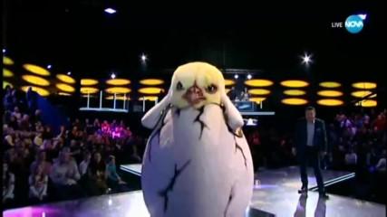 Пилето e разкритo | Маскираният певец