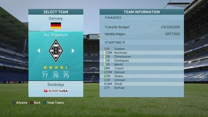 Fifa 16-изберете ми отбор.