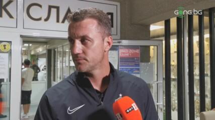 Станислав Генчев след Славия - Лудогорец