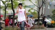 150530 Daehyun - talk + Showgirl @ Busan Port Festival