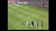 """Арсенал надигра с 2:0 Ливърпул на """"Анфийлд"""""""