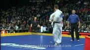 5th Karate World Cup, 1/2 man Heavyweight, Dimitrov - Nesterenko ( Rus )