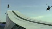 Световен рекорд за най дълго разстояние прелетяно с моторна шейна : 361 фута
